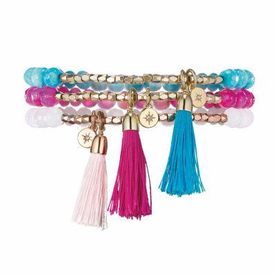 Covnt Garden Tassel Bracelet Set