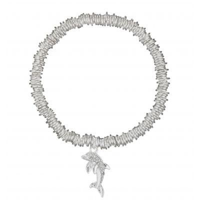 Buckley London Dolphin Candy Charm Bracelet