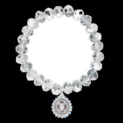 Sombrero Glass Bead Bracelet