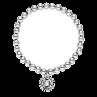 Sombrero Beaded Charm Bracelet