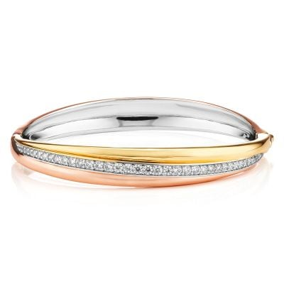 Buckley London Russian Trio Clasp Bangle