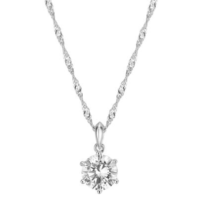 Buckley London Classic Six Claw Solitaire Pendant