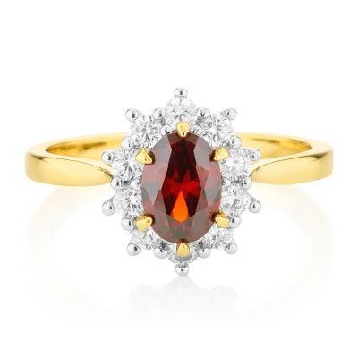 Buckley London Sarah Ferguson Engament Ring Replica