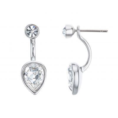 Buckley London Hatton Pear-cut two part earrings