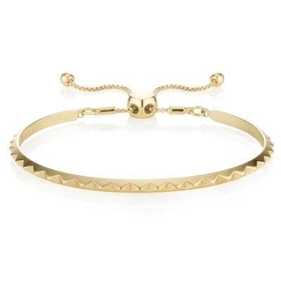 Buckley London Pyramid Bracelet - Gold