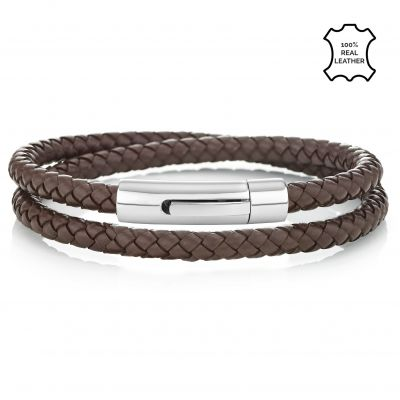 Buckley London Men's Barbican Wrap Around Bracelet