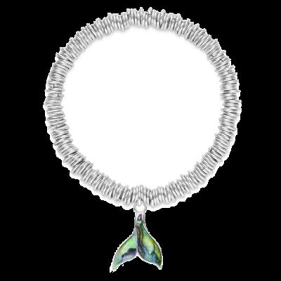 Whale Tail Ocean Charm Bracelet