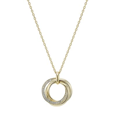 Buckley London Gold Russian Trio Pendant