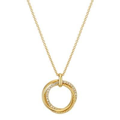 Buckley London Cleo Triple Ring Pendant