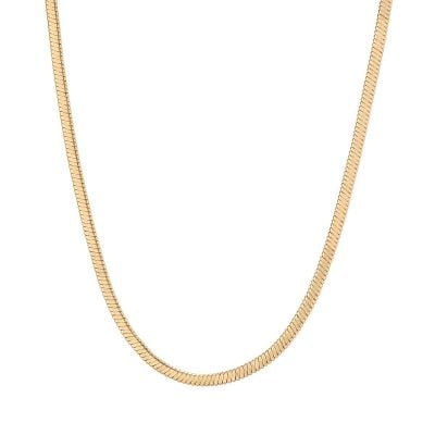 Eyre Gold Snake Chain Necklace