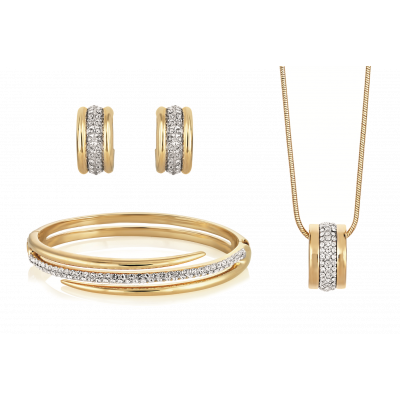 Aspire Bangle, Pendant and Earring Set
