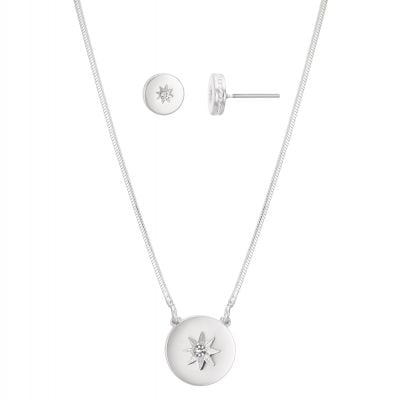 Buckley London Ora Earring & Pendant Set